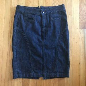 Lucky Brand Denim Pencil Skirt